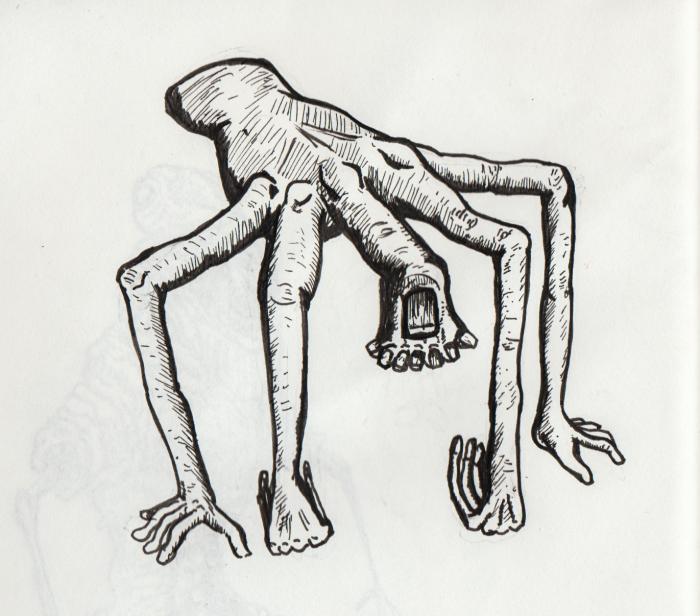 hand monster