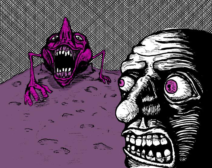 Nightmare Comic Panel 2