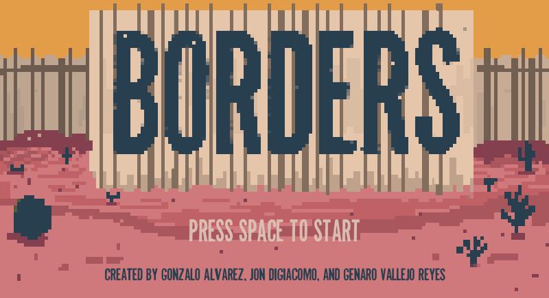 BordersTitleScreen