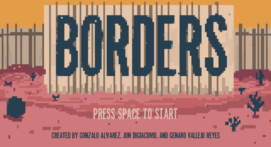 """Borders"" Indie Game/ Art Installation"