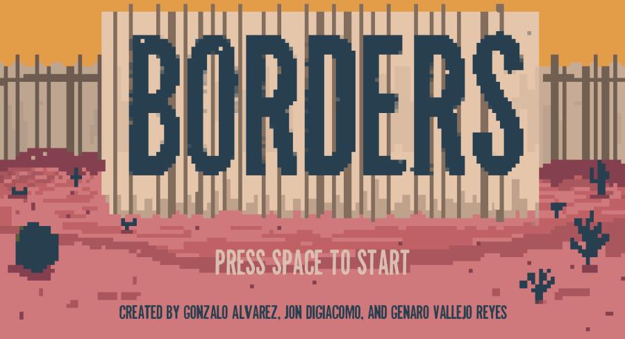 """Borders"" Indie Game/ ArtInstallation"