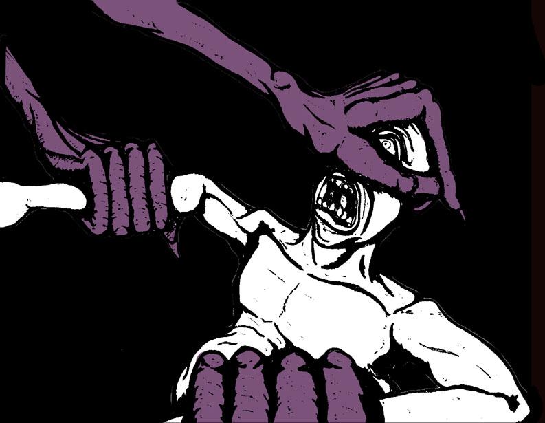 Nightmare Comic Panel 10