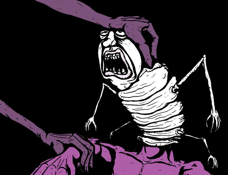 Nightmare Comic Panel 11