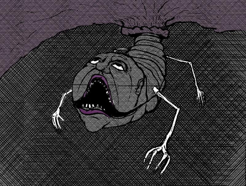 Nightmare Comic Panel 15