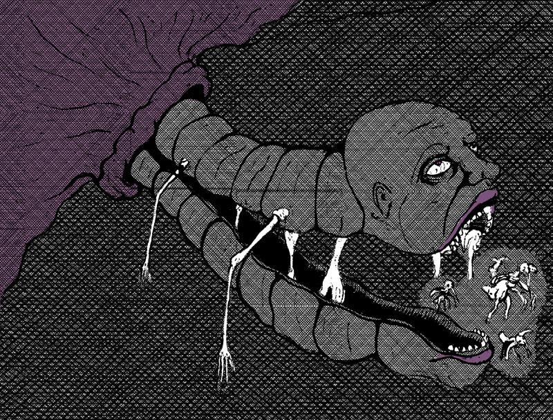 Nightmare Comic Panel 16