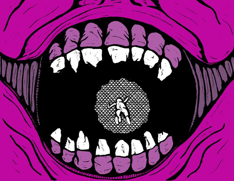 Nightmare Comic Panel 5