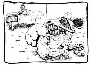 Inktober Day 27: Creepy