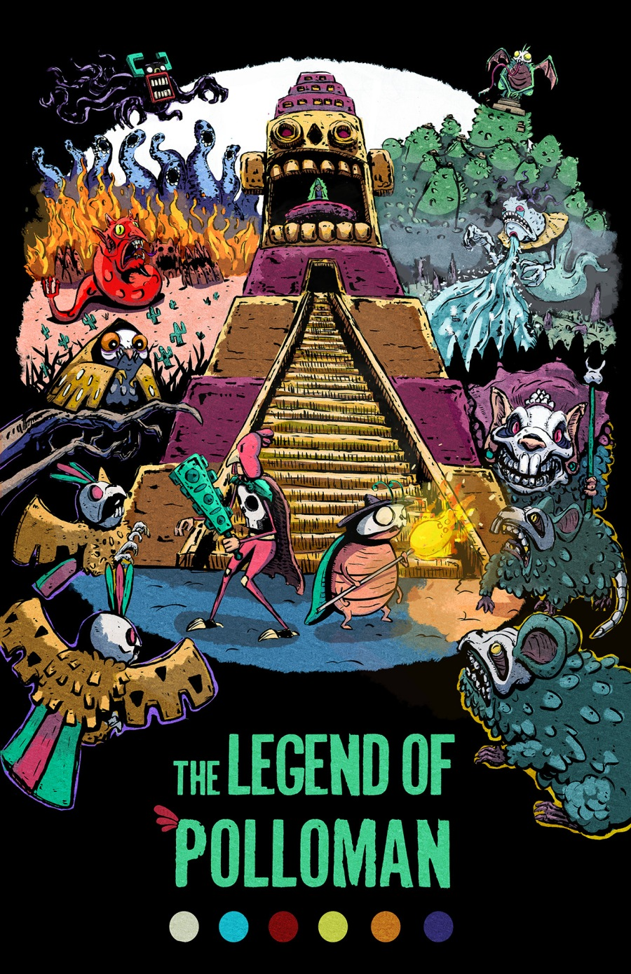 The Legend of Polloman Comic Teaser